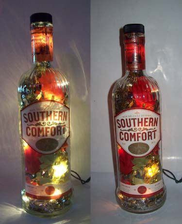 Sweet Idea For Left Over Empty Liquor Wine Bottles Which There Are