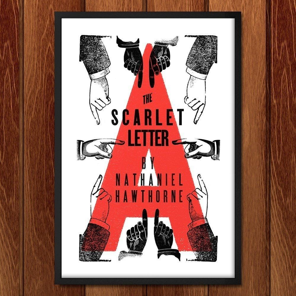 The Scarlet Letter by Mr. Furious Book cover art