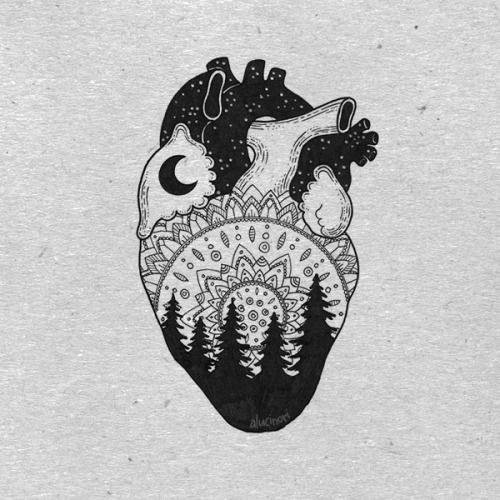 Real Heart Drawing Tumblr | www.pixshark.com - Images ...