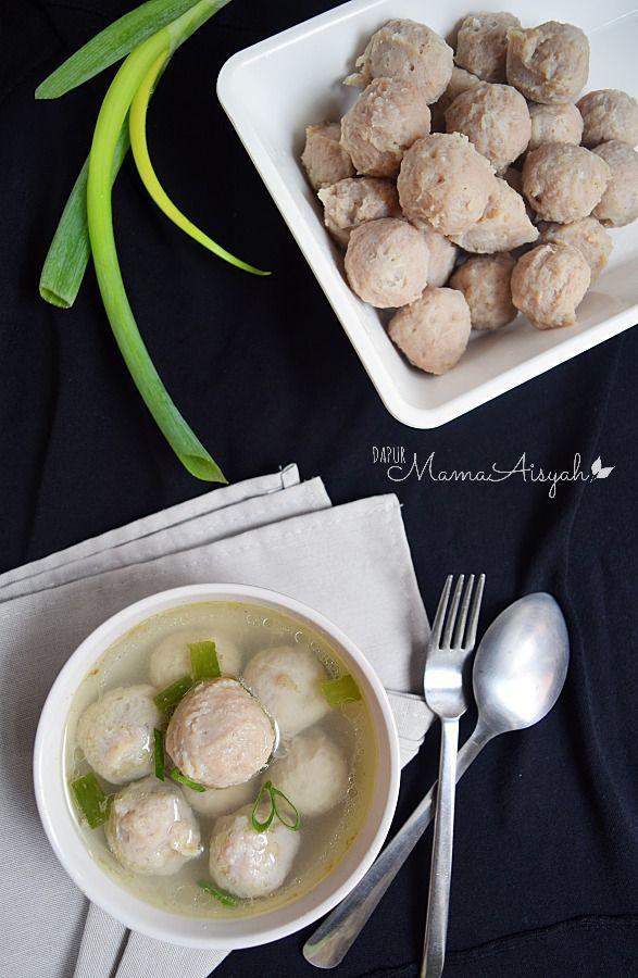 Dapur Mama Aisyah Homemade Bakso Sapi Ayam Resep Masakan Masakan Korea Masakan