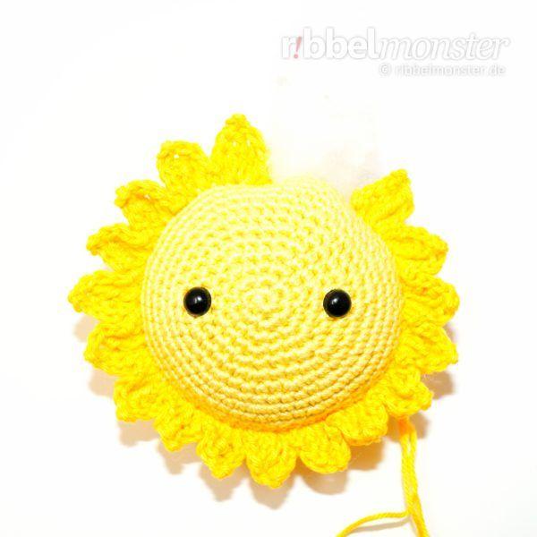 Amigurumi Größte Sonne Häkeln Sonnenschein Kostenlose