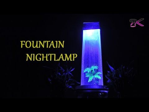 Diy Fountain With Acrylic Sheet Materials Needed 3mm Acrylic Sheet 3w Water Pump 200l Hour