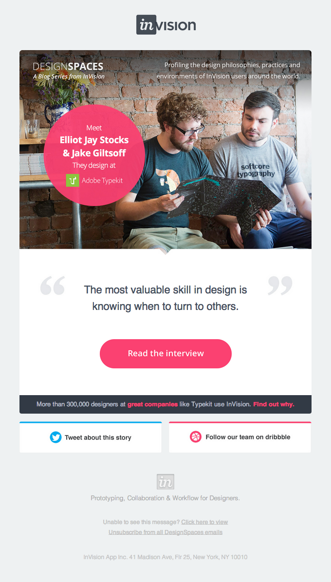 Email Design Inspiration by HTML Email Designs | Email Inspire ...