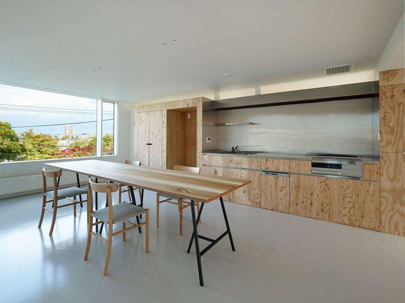 Perfekt Takato Tamagami Architectural Design: Northern Nautilus House   Designboom  | Architecture U0026 Design Magazine