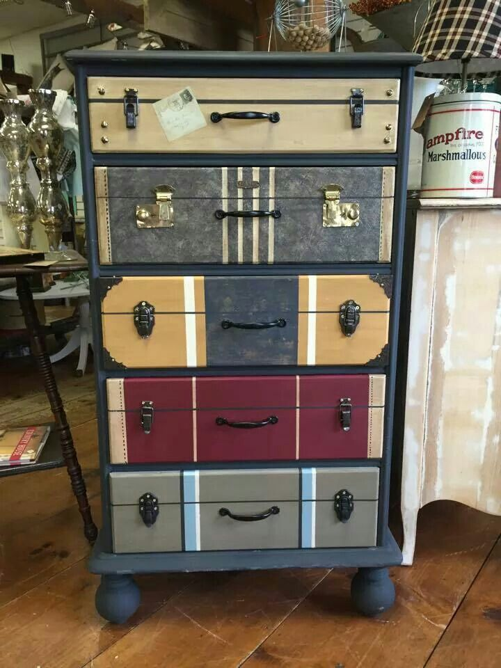 Cool Dresser Painting Recycled Furniture Furniture Projects Diy Furniture