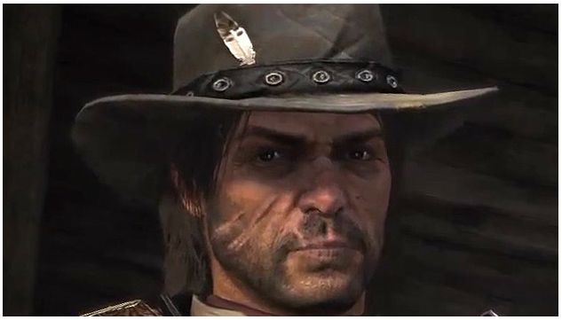 At The Beginning Of The Red Dead Redemption Game Marston