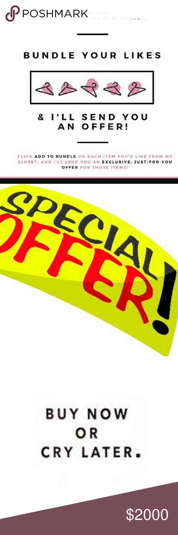 SHOP EASYWAY🔴LIKE🔴BUNDLE🔴GET A DISCOUNTED OFFER Shop the easy discounted way..like ..bundle and I will send you a private discount offer you won't refuse..just try it..you won't regret..low the item..bundle it 😊😊 10 Deep Dresses High Low