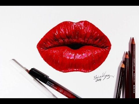 How To Draw Realistic Lips Part 1 Pencilgram Youtube