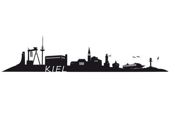Wandtattoo Kiel Skyline 72839 2 Jpg 547 379 Wandgestaltung Fotos Wandtattoo Skyline