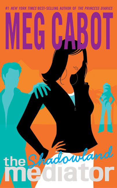 A fantastic series by Meg Cabot called The Mediator.