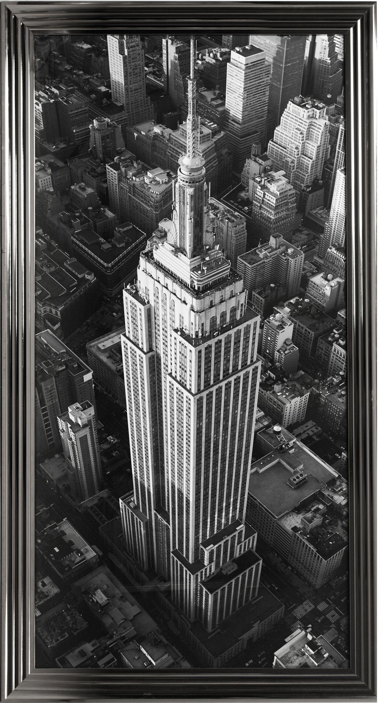 Painting Empire State Building Rofra Home Meubelen En Interieur Accessoires