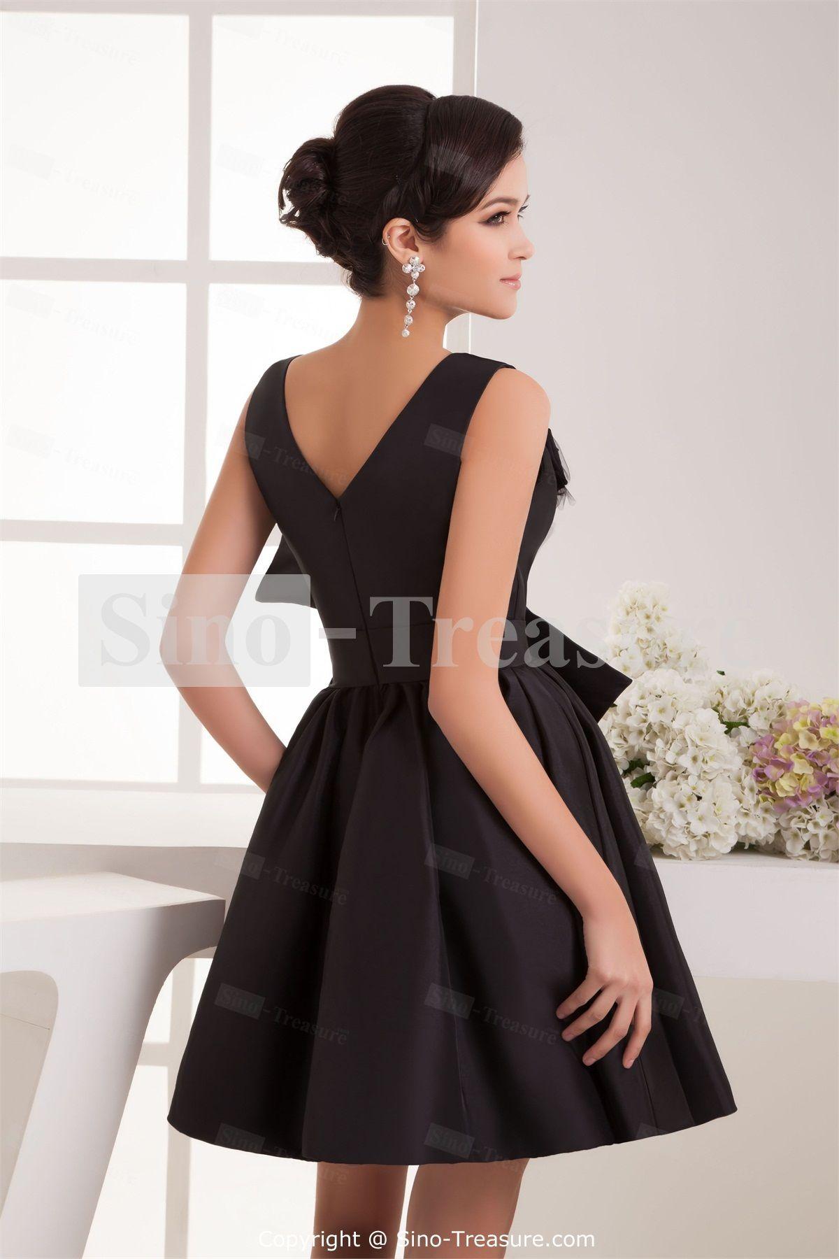 black a line cocktail dress | Gommap Blog | Cocktail Dresses ...