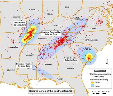 Us Seismic Hazards Misc Alabama Map Public