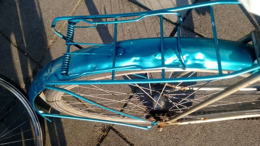 How To Paint A Bike Without Taking It Apart Dutch Style Bike