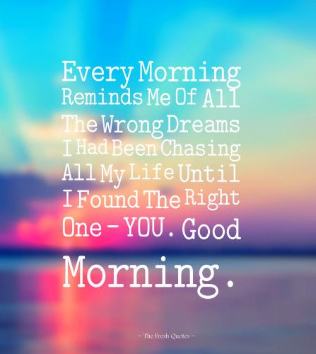 Morning Love Quotes   Cute Romantic Good Morning Wishes Images Quotes Pinterest