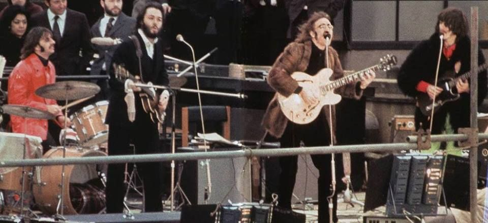 up on a roof... | The beatles, Ringo starr