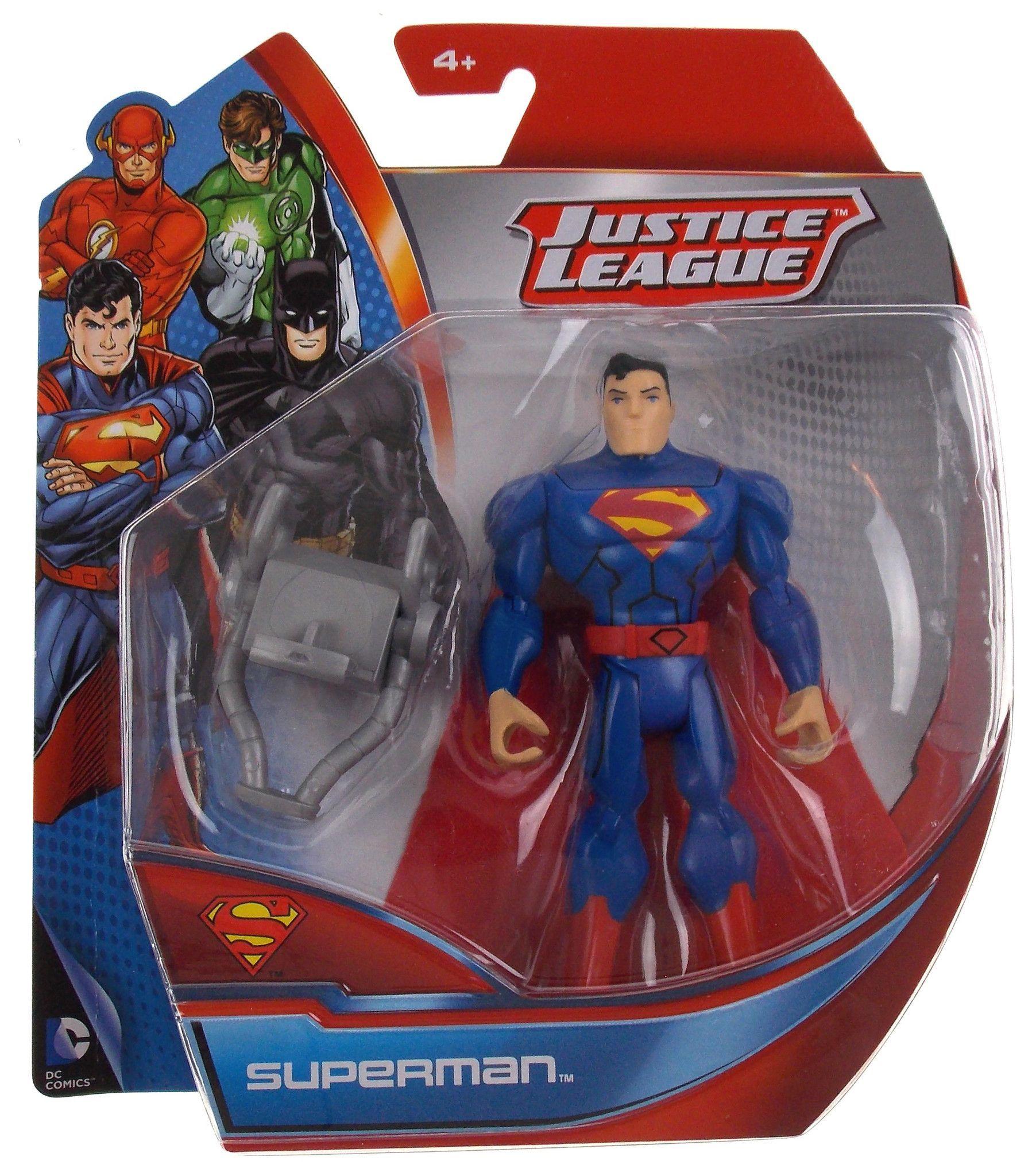 "6/"" BATMAN    LOT OF 2 DC Justice League Superman Figure"