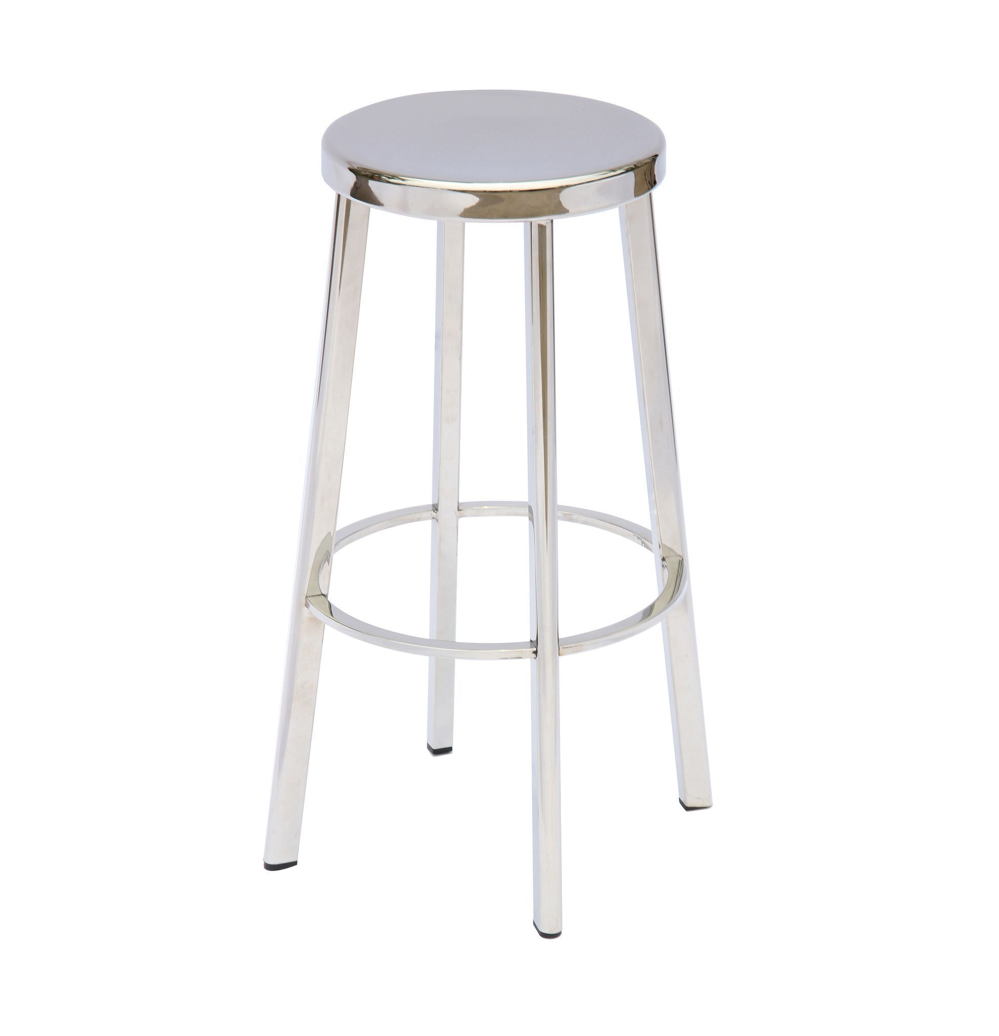 Vitter Stainless Counter Stool Set Of Two