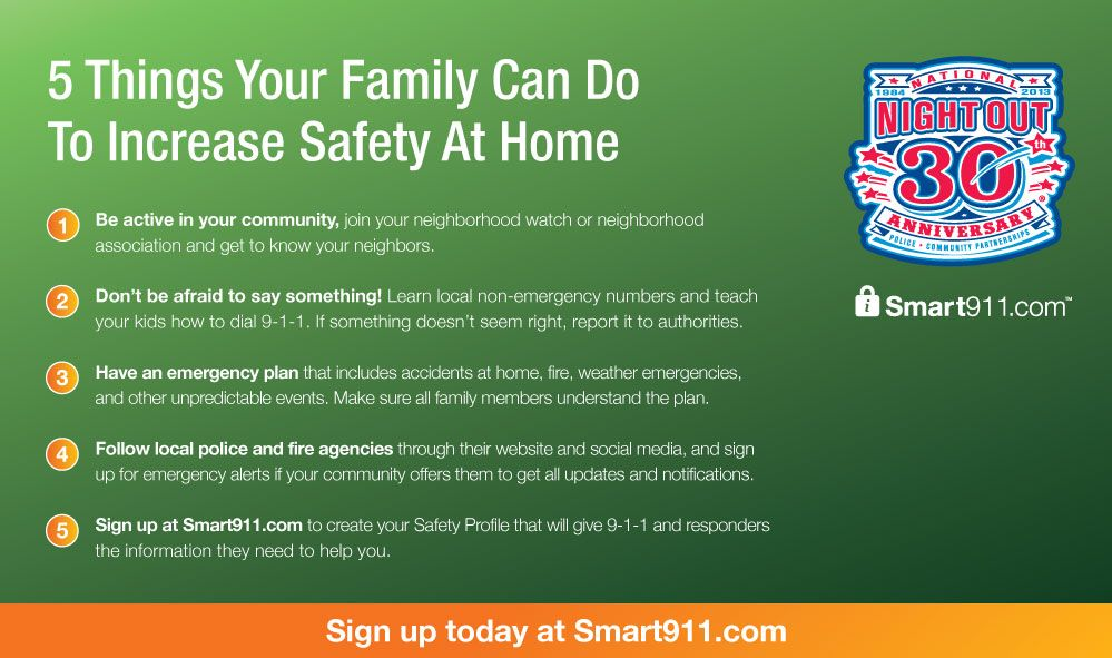 5 Things Your Family Can Do To Increase Safety At Home Nno Home Safety Home Safety Tips Safety And Security