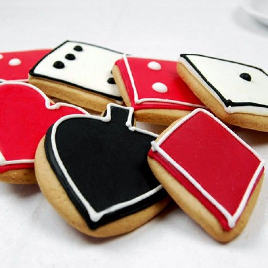 Poker Charity Event Cookie Tray!? Treats