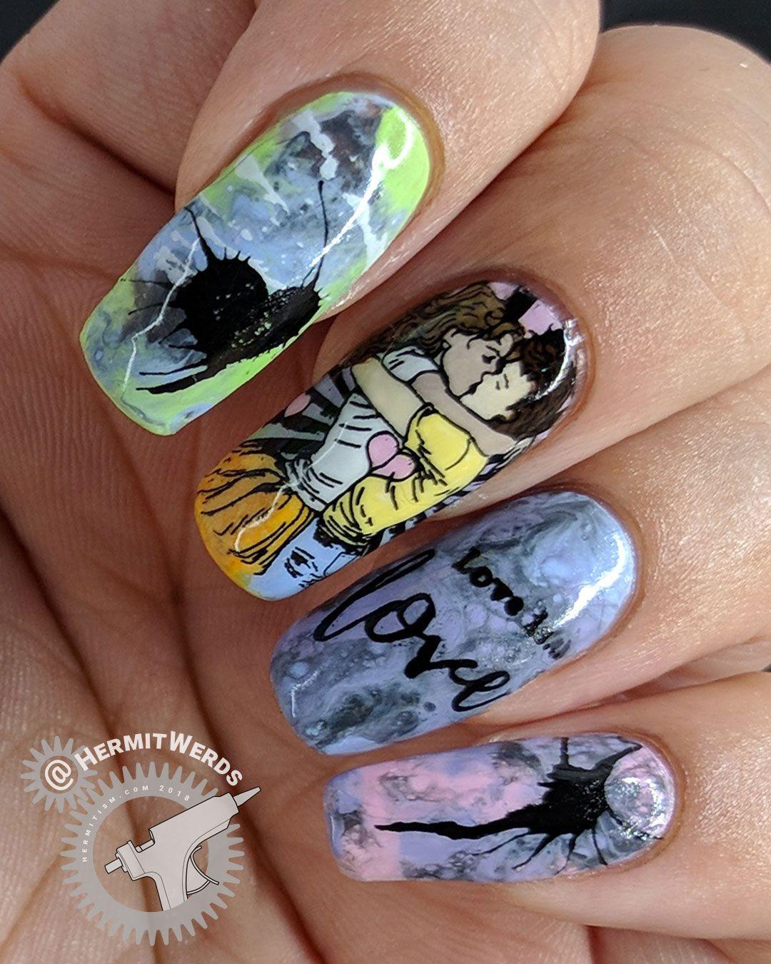 Love Nail Art: Soft Pastel LGBTQ Positive