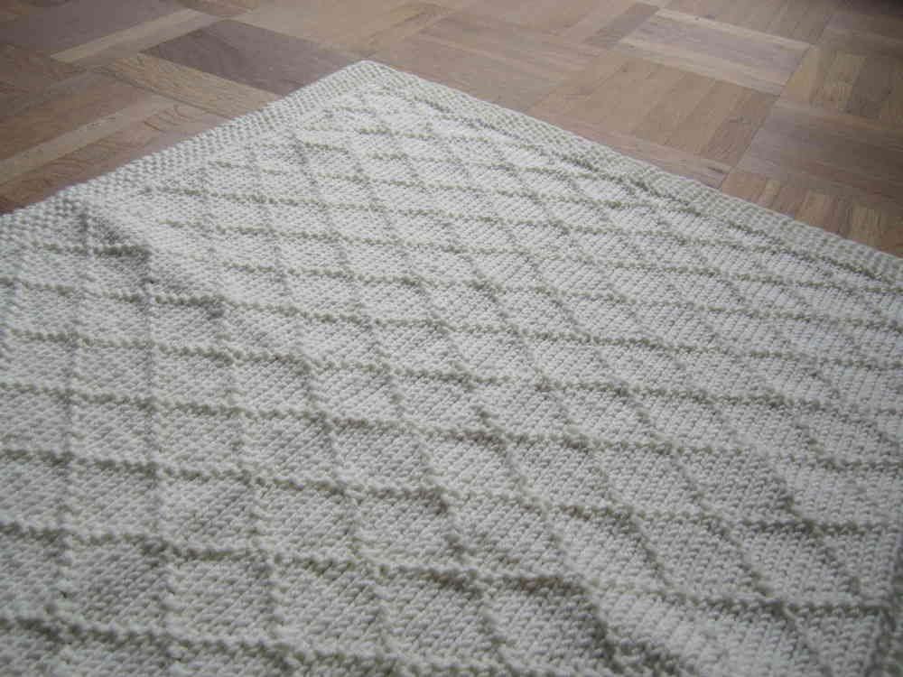 strickanleitung babydecke wunschkind 2 gr en f r anf nger knitting pinterest. Black Bedroom Furniture Sets. Home Design Ideas