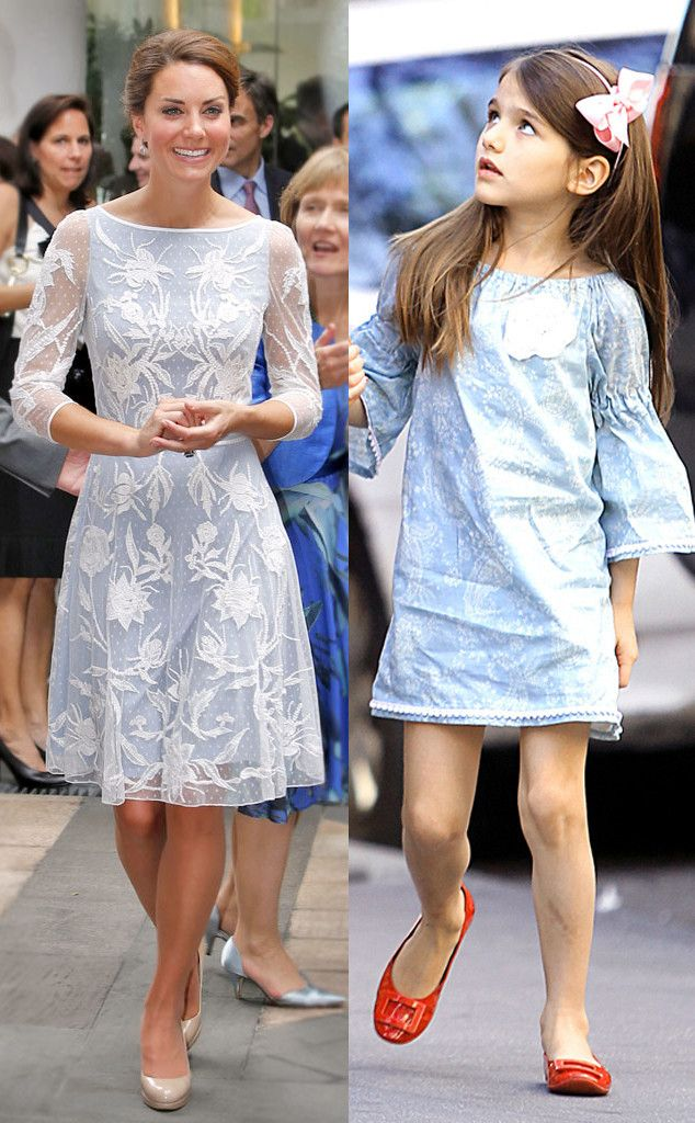 Ice Princesses from Kate Middleton & Suri Cruise's Matching Outfits | E! Online