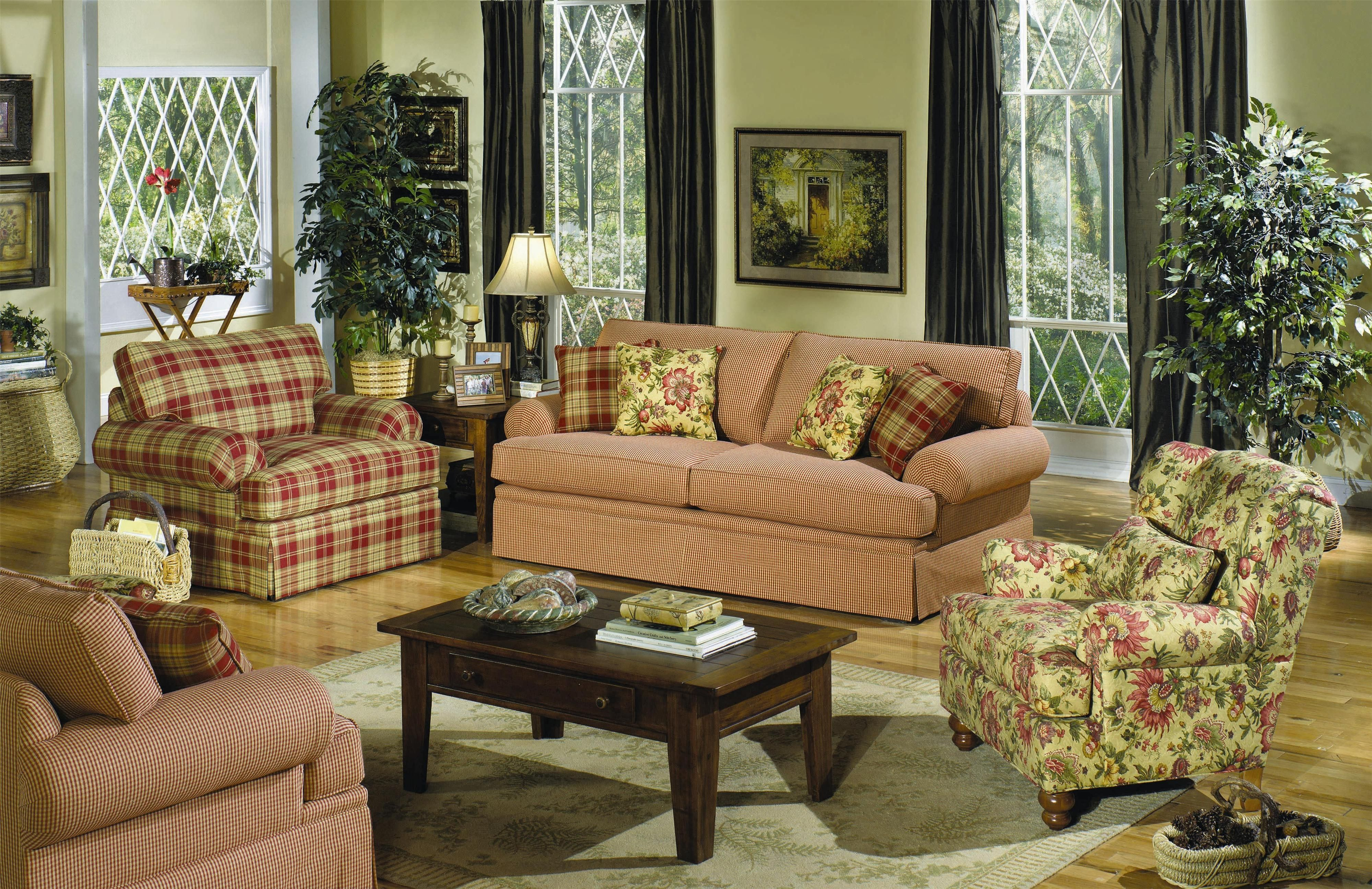 10+ Stunning Plaid Living Room Furniture
