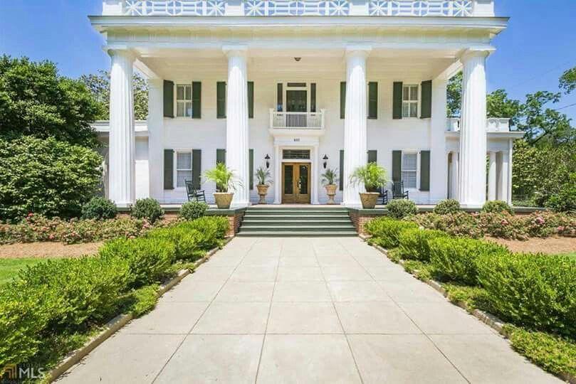 Joshua Hill House 1842 Madison Georgia Greek Revival Home