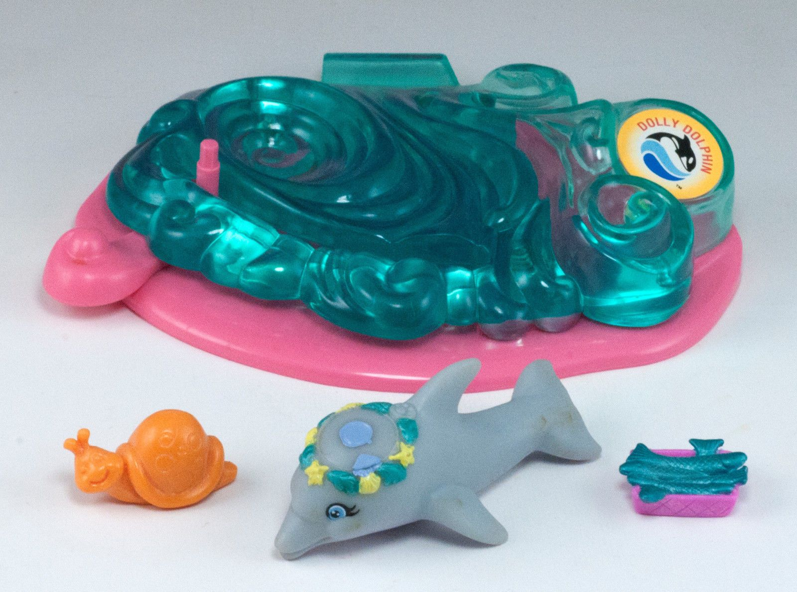 Details About Vintage Littlest Pet Shop Lps Sea World Dolly Dolphin