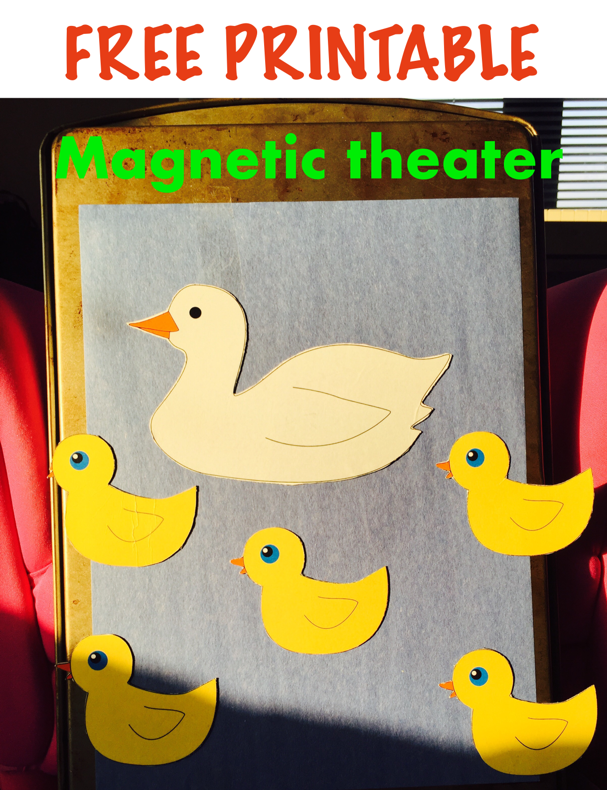 Magnetic Theater 5 Little Ducks Activities For One Year