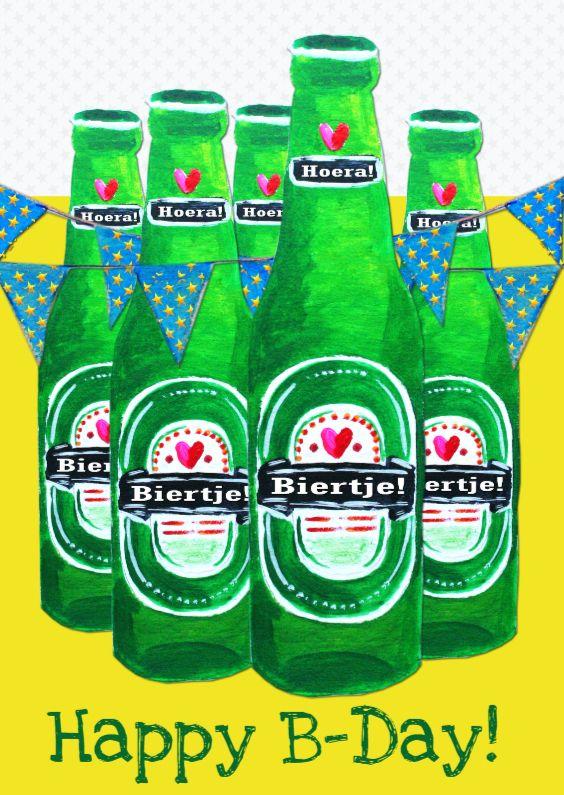Verjaardagskaart Biertje Pa Cards Pinterest Verjaardag