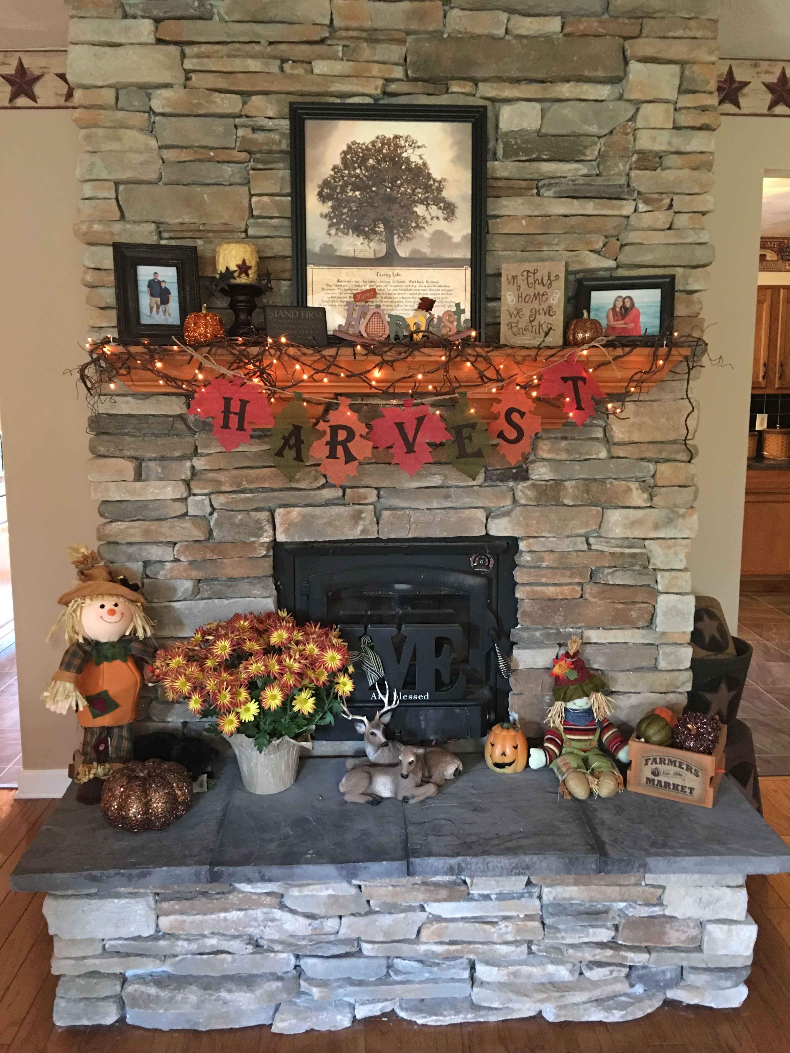 47+ Fall fireplace decor ideas ideas
