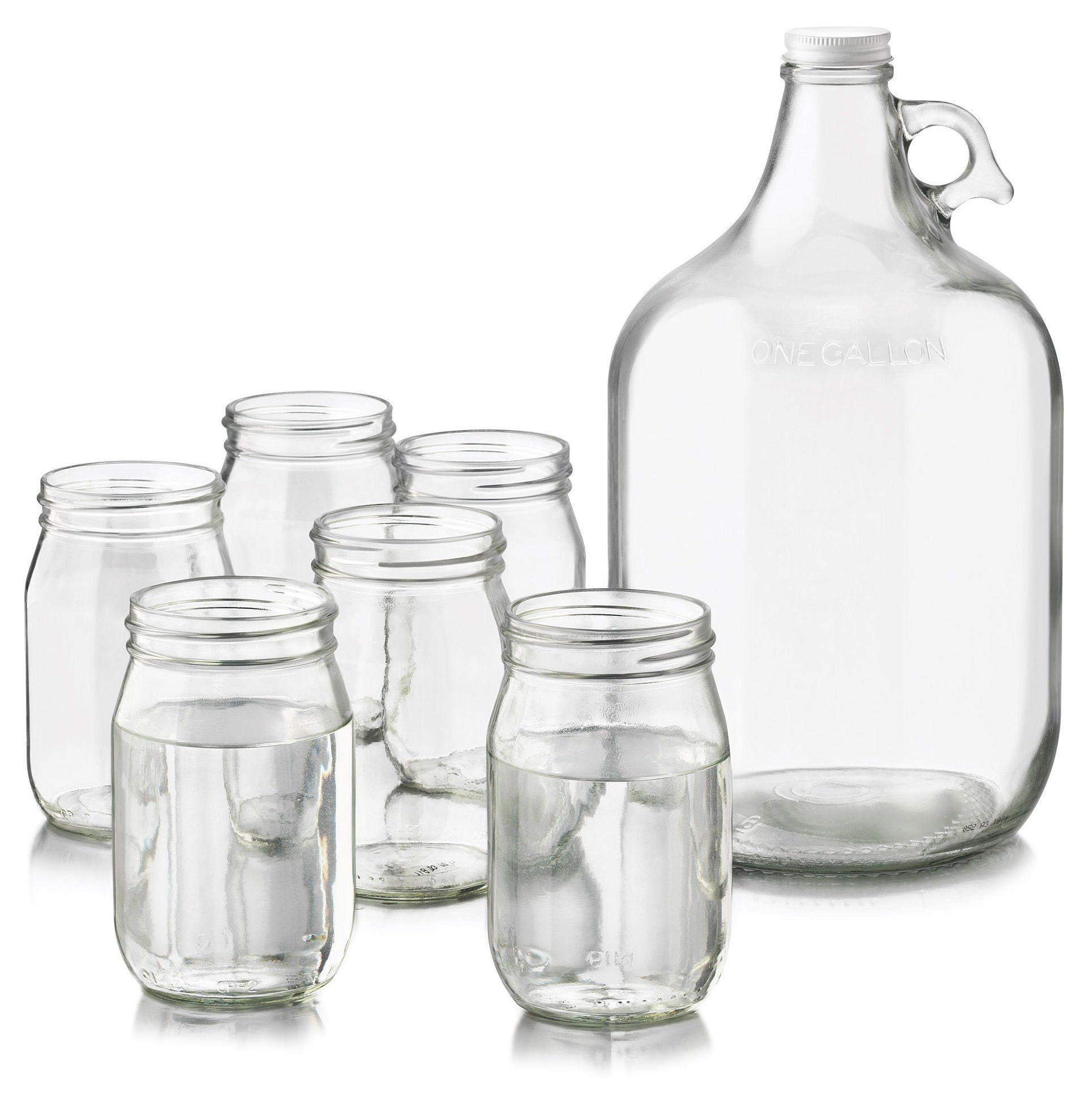 Libbey 8 Piece Country Folk Moonshine Set. Summer ready!