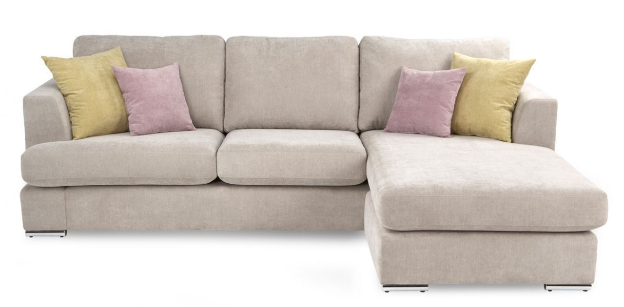 DFS Sorbet Right Hand Facing 4 Seater Lounger Sofa - DFS Sorbet Right Hand Facing 4 Seater Lounger Sofa For The Home