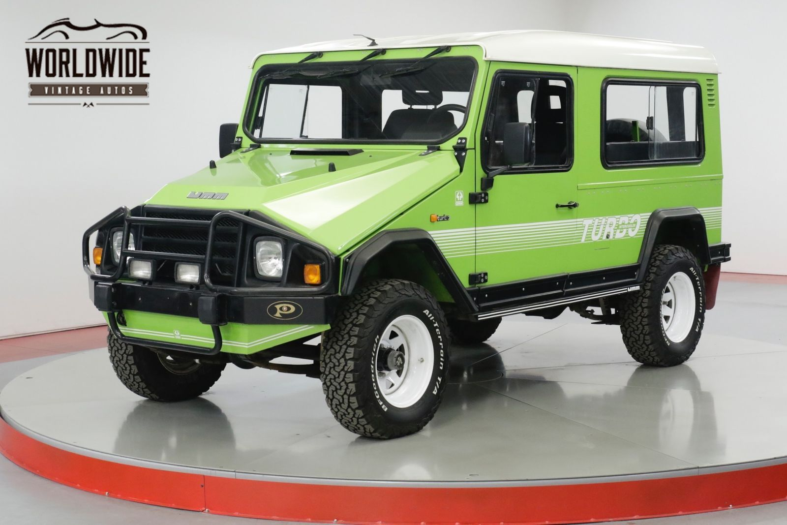 Rare Rides A 1990 UMM Alter II, Lots of Lime in 2020