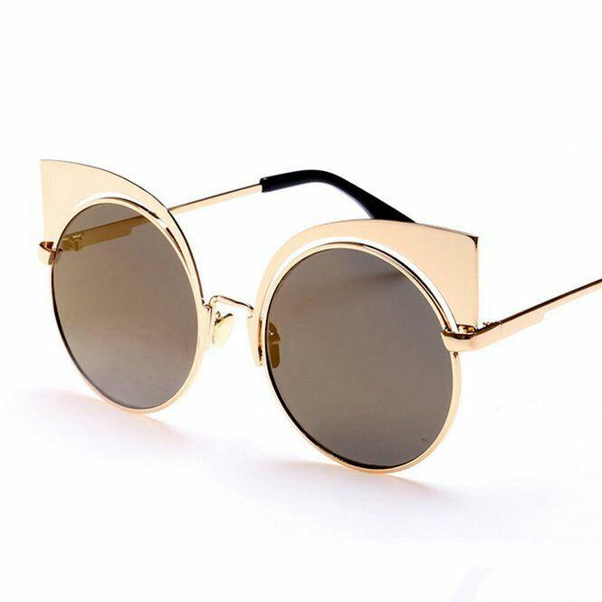 fd0e0c9d060 Tendance mode   49 Lunettes de soleil pour femme tendance été 2017 lunette  pour femme collection