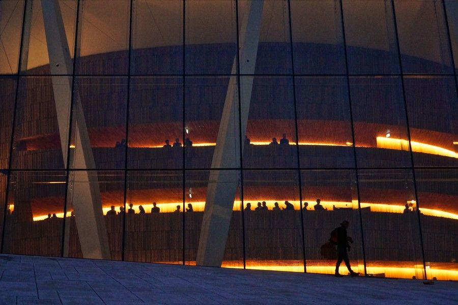 The Oslo Opera house is a great place for an event or a walk! #oslo #opera #architecture