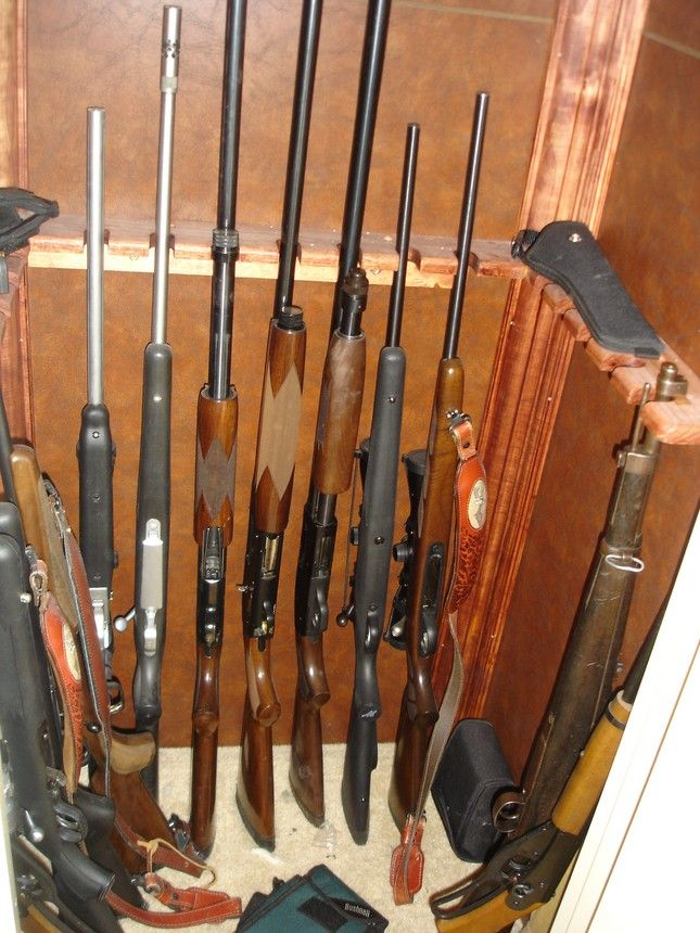 Lovely How To Turn A Closet Into A Gun Cabinet   Google Search
