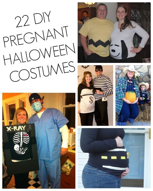 31 DIY Pregnant Halloween Costumes Halloween Pinterest - pregnant couple halloween costume ideas