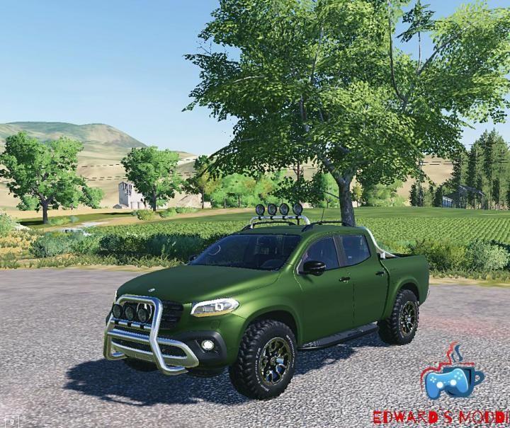 FS19 - Mercedes X Class V1 Download | Game Mods | Audi tt