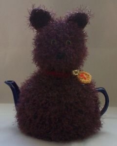 Knit your own! TeaCosyFolk Kit-Tea Cat Tea Cosy Knitting Pattern