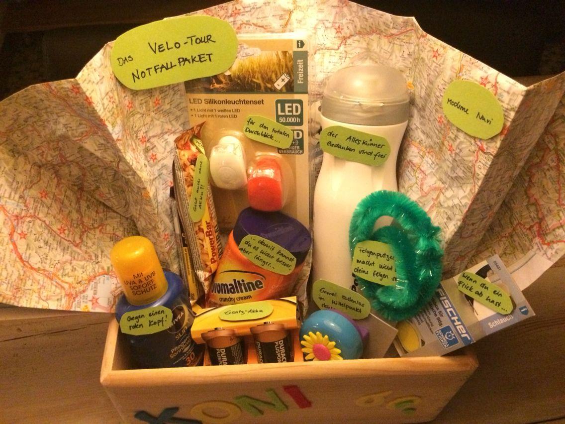 60 geburtstag velotour notfallpaket geburtstagsgeschenk spassgeschenk kreativ geschenke - Pinterest geburtstagsgeschenk ...