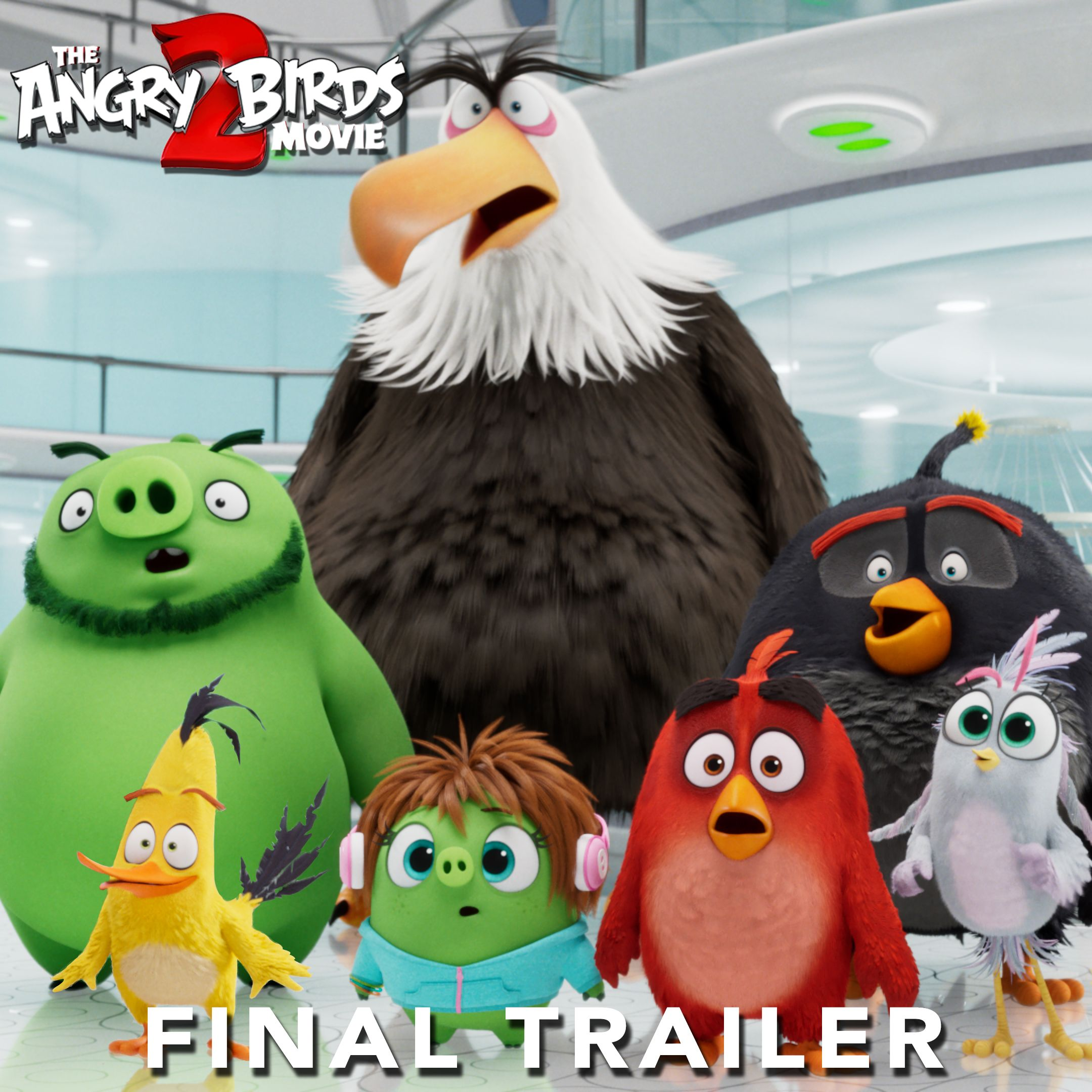 The Angry Birds Movie 2 Final Trailer Video Angry Birds Movie Angry Birds 2 Movie Angry Birds