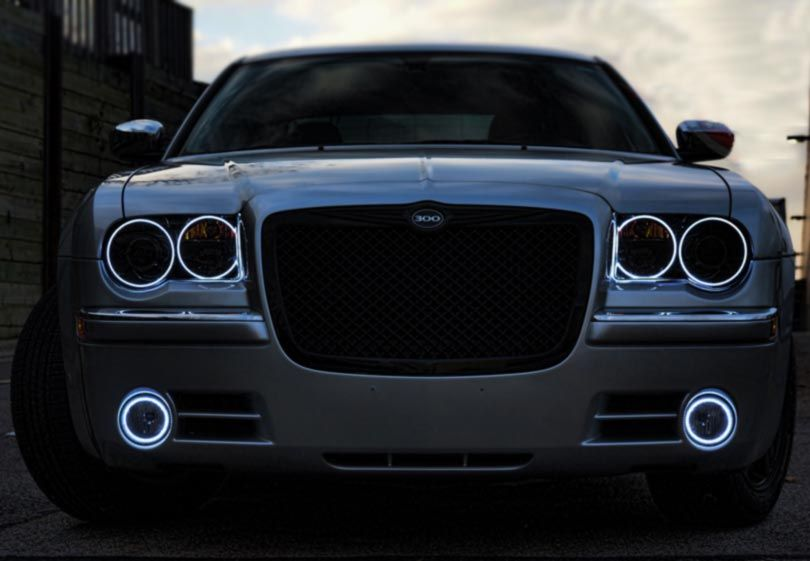 Chrysler 300 Aftermaketheadlight Halo Chrysler 300 Chrysler