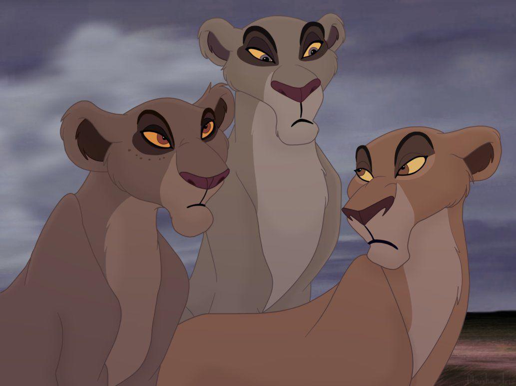 Король лев картинки сараби и шрамов