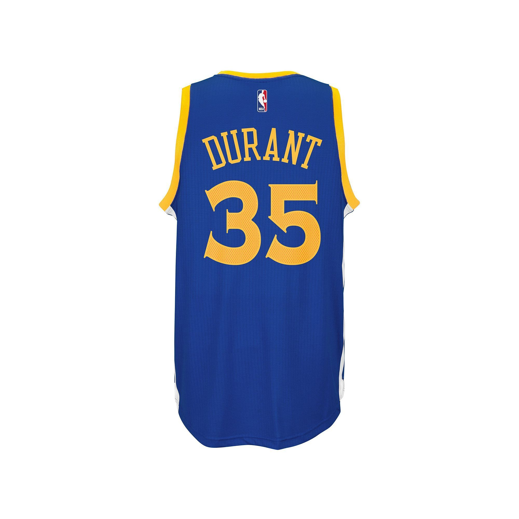 697c66d9e20 Men s adidas Golden State Warriors Kevin Durant NBA Replica Jersey ...