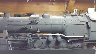 USS-Prizuttu: Br 52: La mise en peinture.