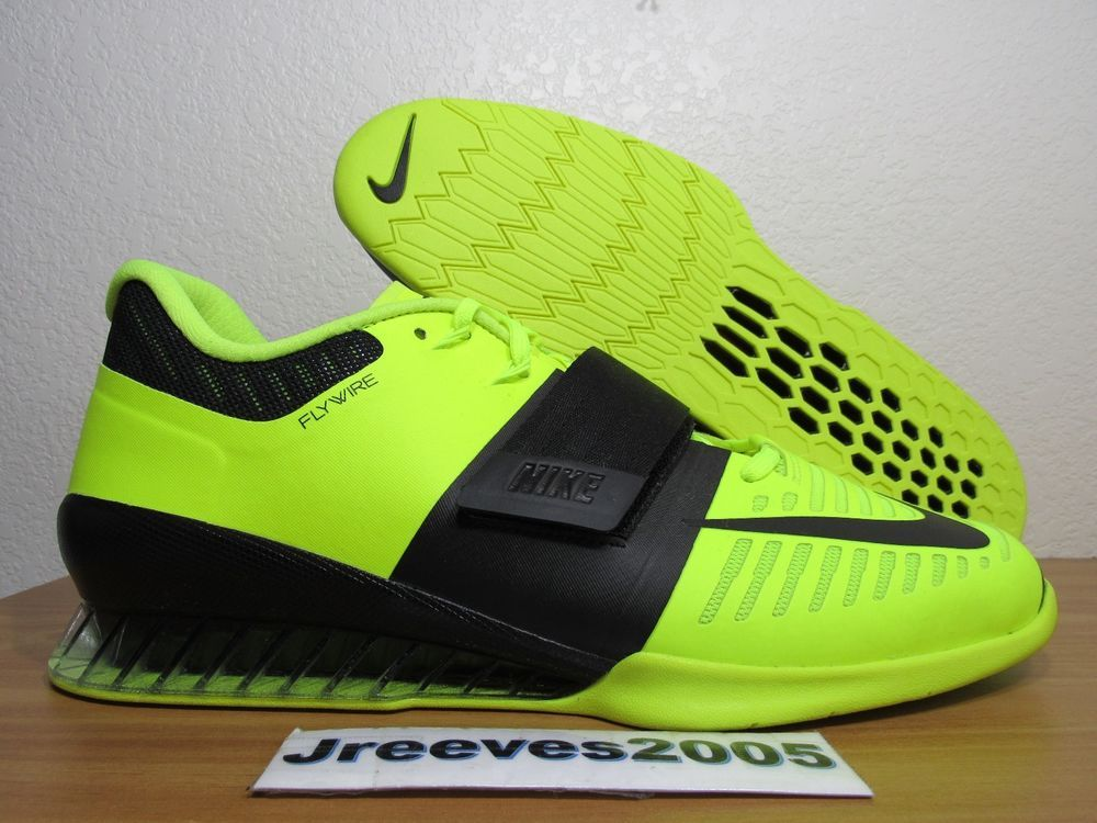 finest selection 67d20 b99a1 Nike Romaleos 3 Weightlifting Sz 12.5 100% Authentic Powerlifting 852933  700  fashion  clothing  shoes  accessories  mensshoes  athleticshoes (ebay  link)