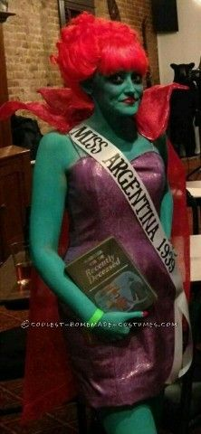 Miss Argentina! Next years halloween costume for sure